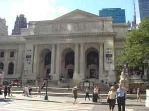 Fachada da Biblioteca Pública