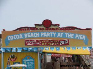 Pier de Cocoa Beach