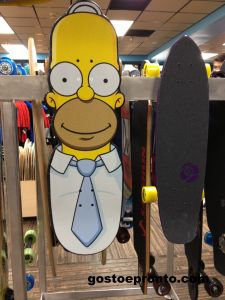 Shape para Skete - Simpsons Ron Jon Surf Shop